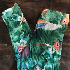 Pants - St. Patrick's Day leprechaun leggings